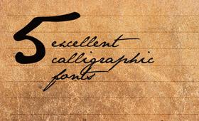 ... fonts – 美しい筆記体フォント