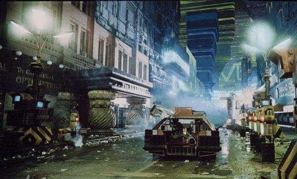 Film The Art Of Blade Runner Original Matte Paintings And Sketches ブレードランナー撮影当時のマットペイントやスケッチがとっても素敵 Mblog
